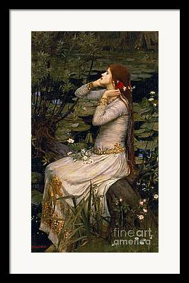 Ophelia Framed Prints