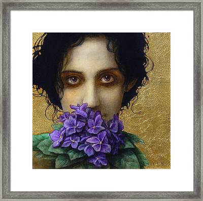 Ophelia Framed Print by Jose Luis Munoz Luque
