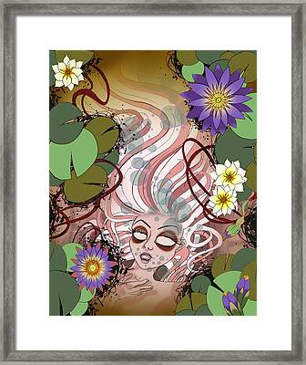 Ophelia Framed Print by Kate Collins