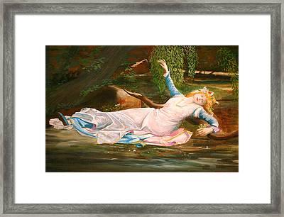 Ophelia  Framed Print by Steve Jones
