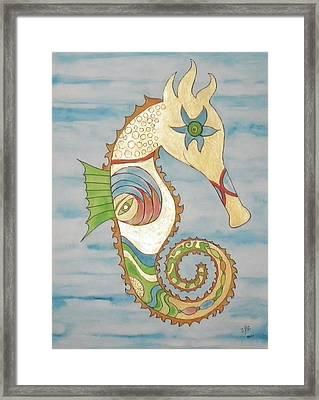 Ophelia The Seahorse Framed Print