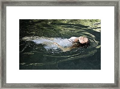 Ophelia Framed Print by Venetia Featherstone-Witty