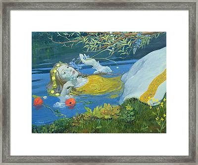 Ophelia Framed Print by William Ireland