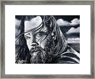 Opie Framed Print by Tom Carlton