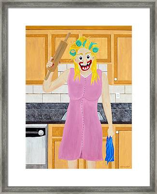 Opinionated Framed Print