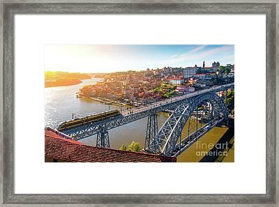Oporto City Framed Print