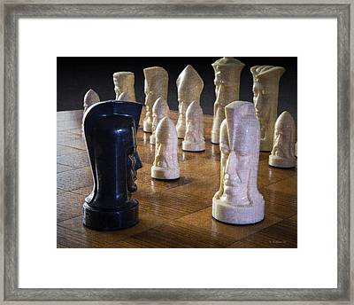 Opponents Framed Print by Brian Wallace