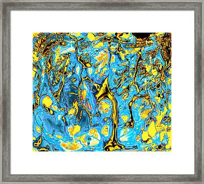 Framed Print featuring the painting Opportunities by Anastasiya Malakhova