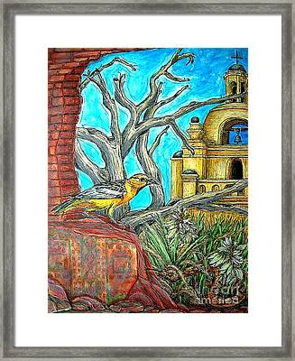 Opposing Points Of View Framed Print