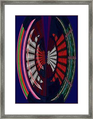 Opposit Arc Pattern Abstract Digital Graphic Art Interior Decorations Buy Painting Print Poster Pill Framed Print