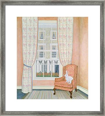 Opposite Windows Framed Print by Ditz