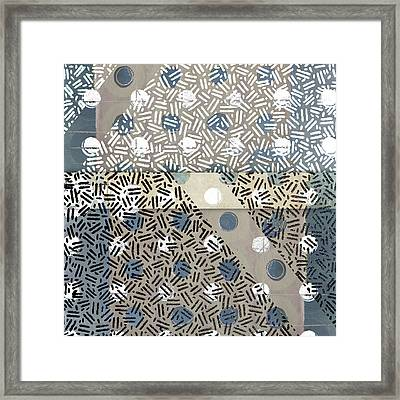 Opposites Attract Photomontage Framed Print