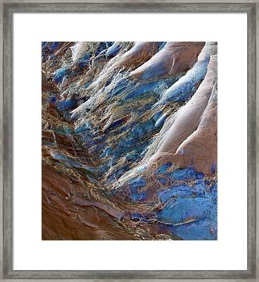 Gemstone Gorge Framed Print
