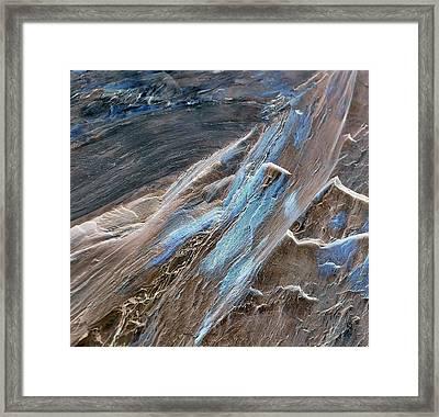 Frayed Framed Print