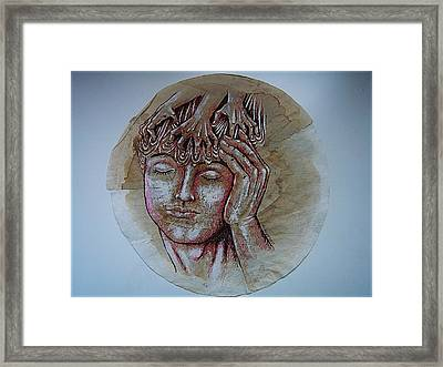 Oppression Framed Print by Paulo Zerbato