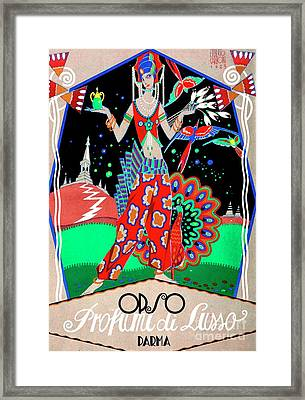 Opso Luxury Perfumes Framed Print