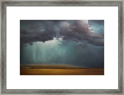 Opt.61.16 Storm Framed Print