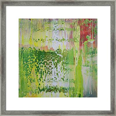 Opt.68.16 Pure Heart Framed Print by Derek Kaplan