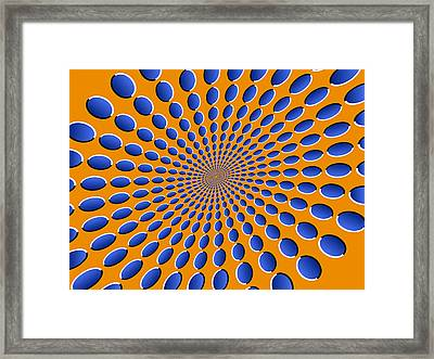 Optical Illusion Pods Framed Print