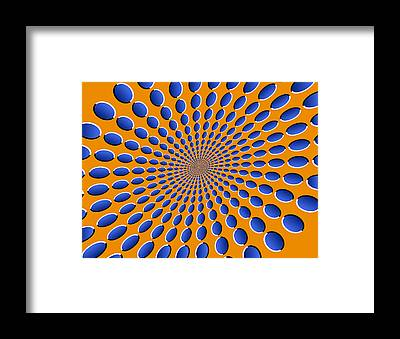 Optical Illusion Framed Prints