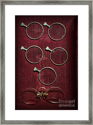 Optician - Optometrist Lens Framed Print
