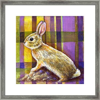 Framed Print featuring the painting Optimism by Retta Stephenson