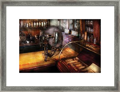 Optometrist - Number 1 Or Number 2  Framed Print by Mike Savad