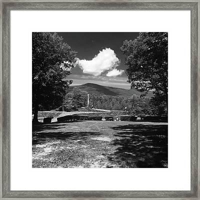 Opus 40 Framed Print