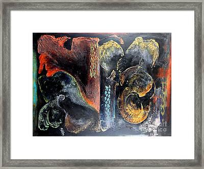 Opus Framed Print