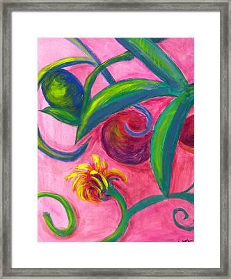 Opus Seven Framed Print by Rebecca Merola