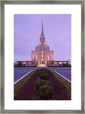 Oquirrh Fall Framed Print by Chad Dutson