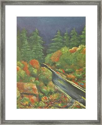 Or 18 W Framed Print by Chaline Ouellet