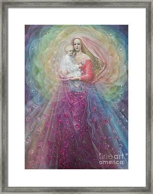 Ora Pro Nobis Framed Print by Annael Anelia Pavlova