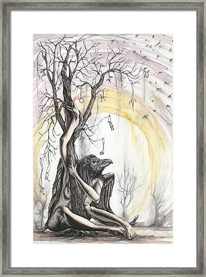 Oracle Manor Framed Print by Tai Taeoalii