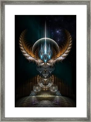 Oracle Seer Framed Print