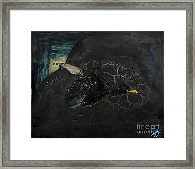 Oracular Inquiry - Ecological Footprint - Drilling Permits - Crude Oil Offshore Energy - Das Orakel Framed Print