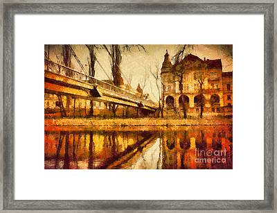 Oradea Chris River Framed Print