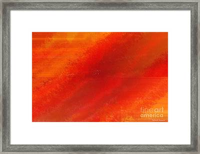 Orange 1 Framed Print