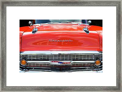 Framed Print featuring the photograph Orange 57 by Tim Gainey