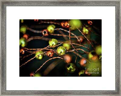 Orange And Yellow Framed Print by Stephan Grixti