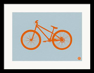 Old Bikes Framed Prints