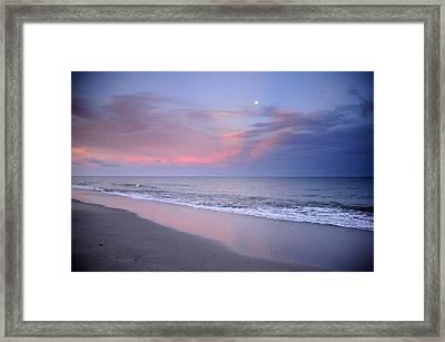 Orange Clouds Framed Print by Iris Greenwell