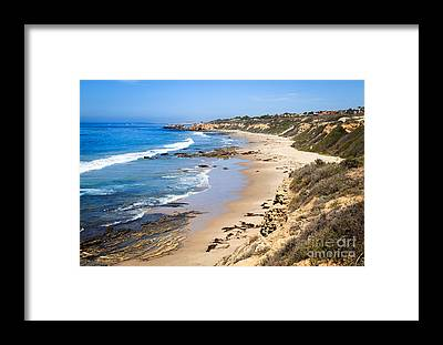 Crystal Cove Framed Prints