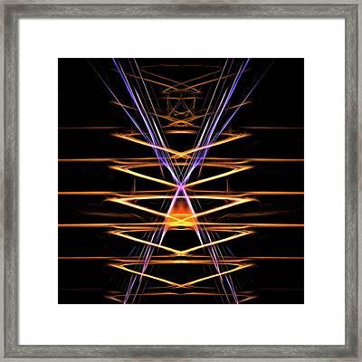 Orange Crush Framed Print by Burtram Anton