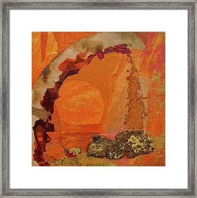 Orange Day Framed Print by Carole Johnson