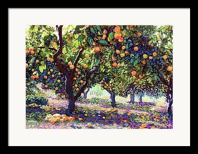 Tangerine Framed Prints