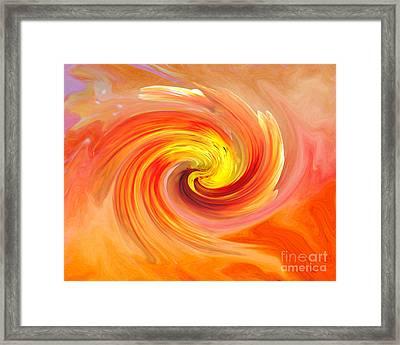 Orange Soda  Framed Print by Anita Faye