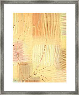 Orange Textures  Framed Print by Marja Koskinen-Talavera