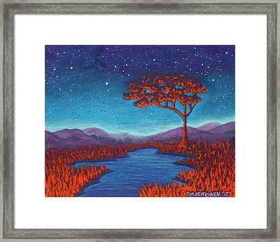 Orange Tree 01 Framed Print