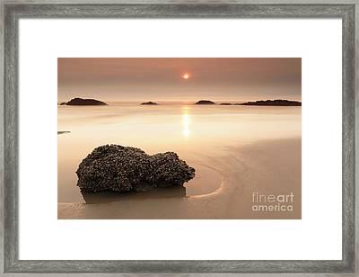 Orange World Framed Print